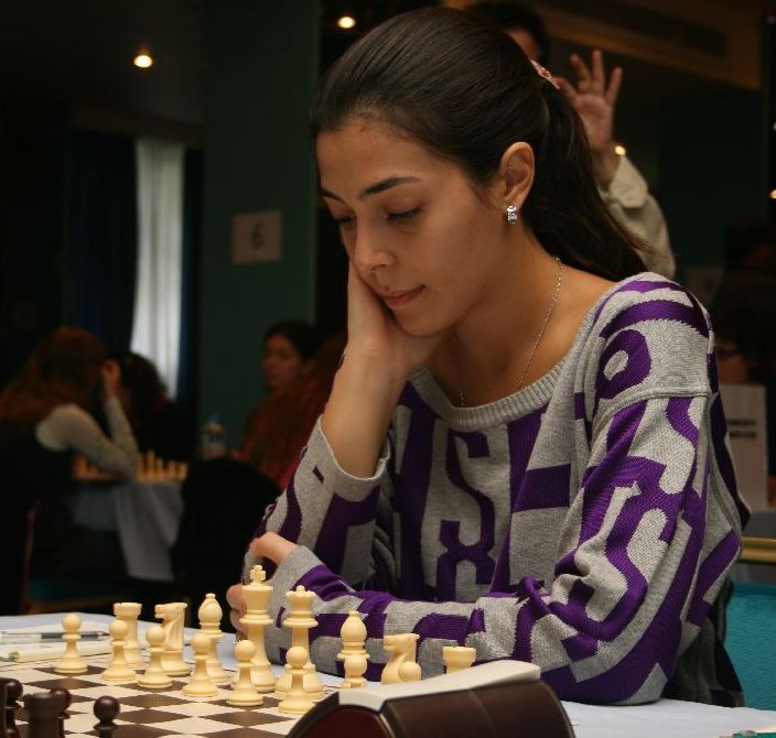 Vera Papadopolou helped her team to win the local derby against