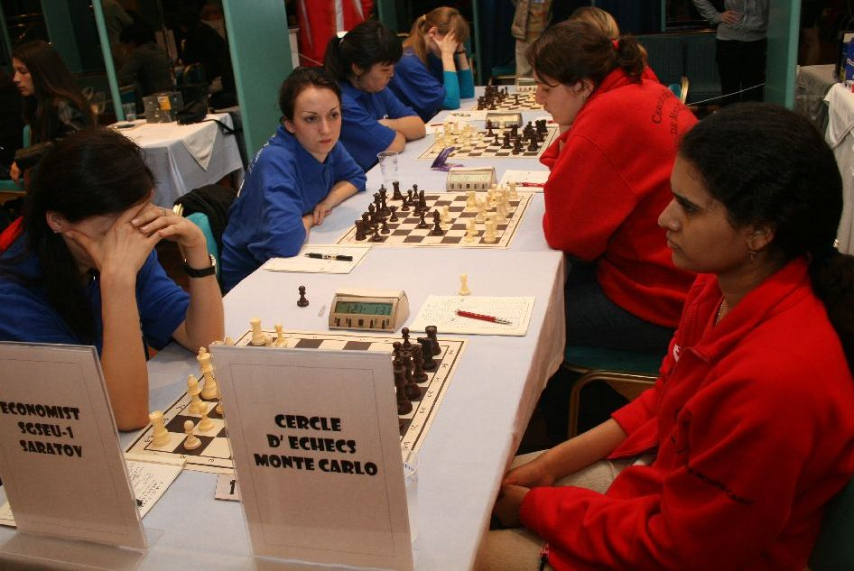 Economist Saratov vs. Monte Carlo Chess Club