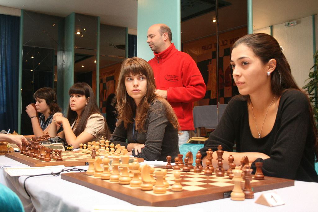 The local heros Aspopirgos Attikis were halted by Monte Carlo.WIM Papadopoulou, WIM Cherenkova, WFM Fakhretdinova and Iordanidou.