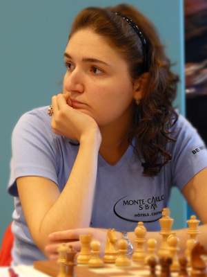 IM Nana Dzagnidze won the decisive game of the match against Finek.St Petersburg.