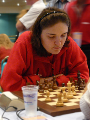 Nana Dzagnidze scored another important victory for her team.