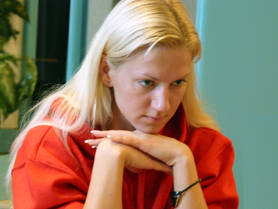 Anna Sharevich's win in the opposite coloured bishop endgame led her team EPAM to the victory against T-Com Podgorica.