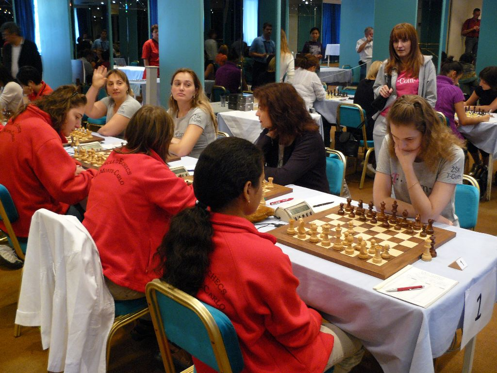 T-Com Podgorica held Monte Carlo Chess Club to a draw to take the second place.