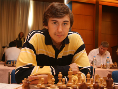 Sergey Karjakin, first board for PVK Kiev